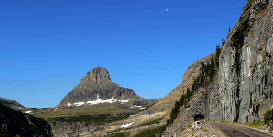 On Going to the Sun Road in Glacier National Park