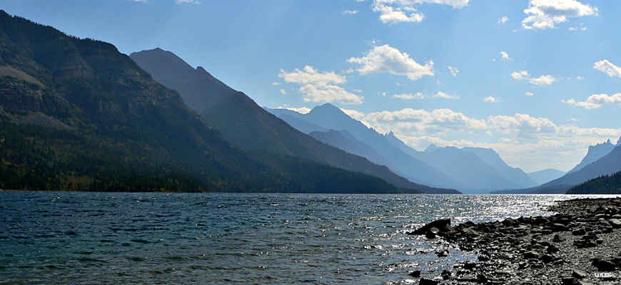Waterton Lake, Glacier National Park
