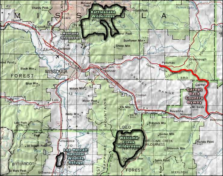 Rattlesnake National Recreation Area And Wilderness The