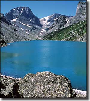 Black Canyon Lake, Absaroka-Beartooth Wilderness