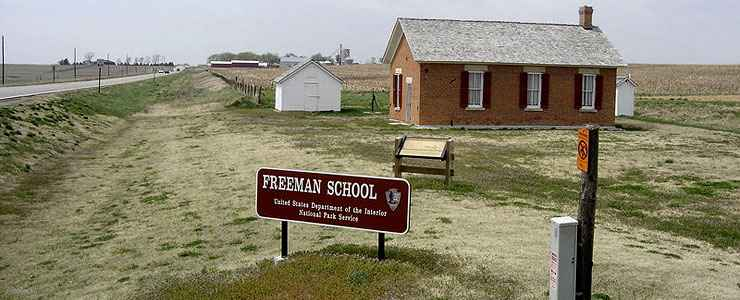 The Freeman School at Homestead National Monument of America