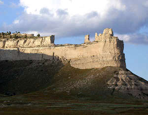 Saddle Rock at Scotts Bluff National Monument