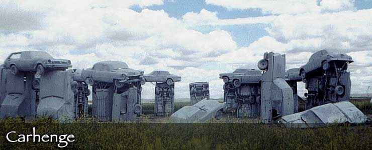 Carhenge, along the Gold Rush Byway near Alliance