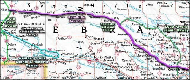 Sandhills Journey Scenic Byway  Nebraska Scenic Byways