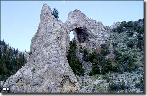 Lexington Arch, Great Basin National Park
