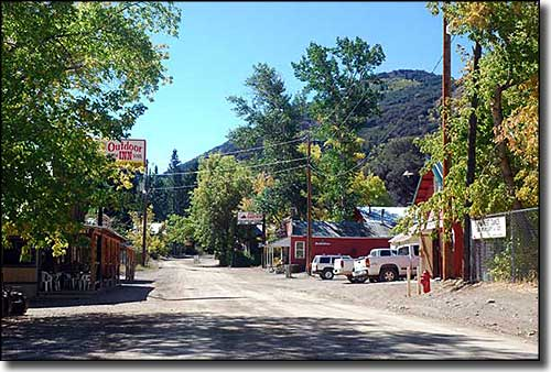 Downtown in Jarbidge, Nevada