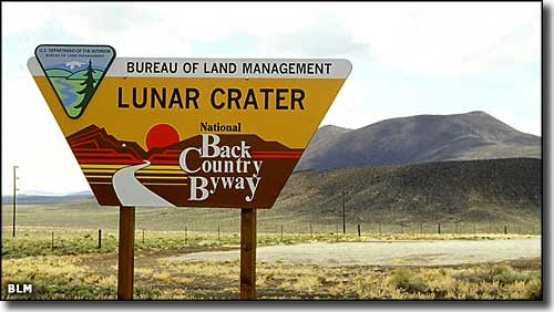 Lunar Crater Backcountry Byway