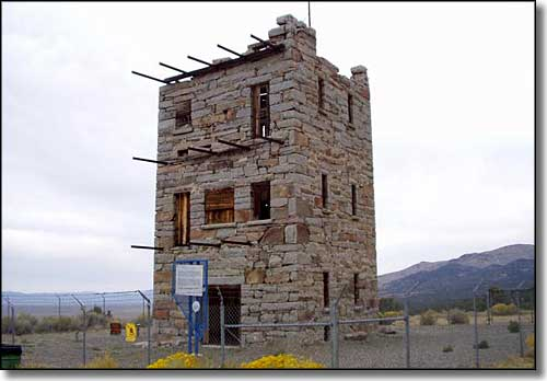 Stokes Castle near Austin, Nevada
