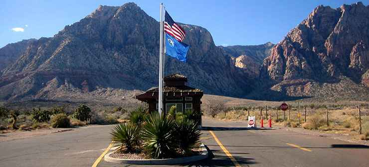 Spring Mountain Ranch State Park entrance