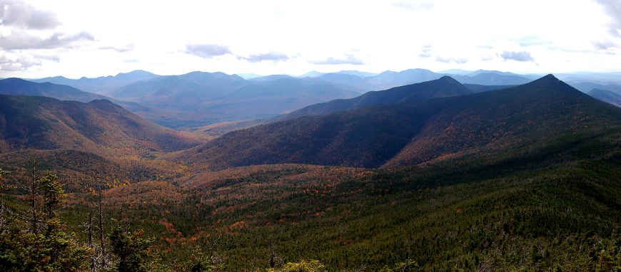 A view of Pemigewasset Wilderness