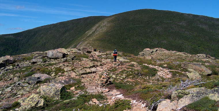 Mount Bond, on the north edge of the Pemigewasset Wilderness