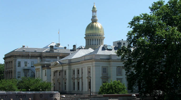 New Jersey State House in Trenton