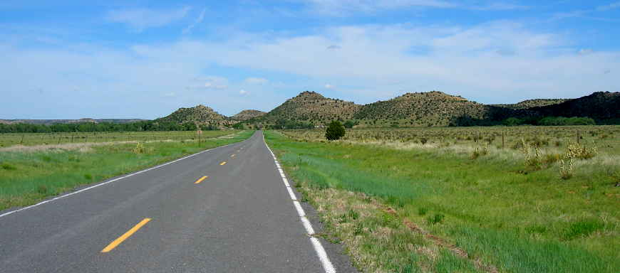 Kiowa National Grassland near the Texas-Oklahoma state line
