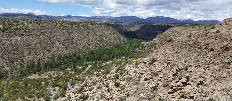 Bandelier National Monument: Frijoles Canyon