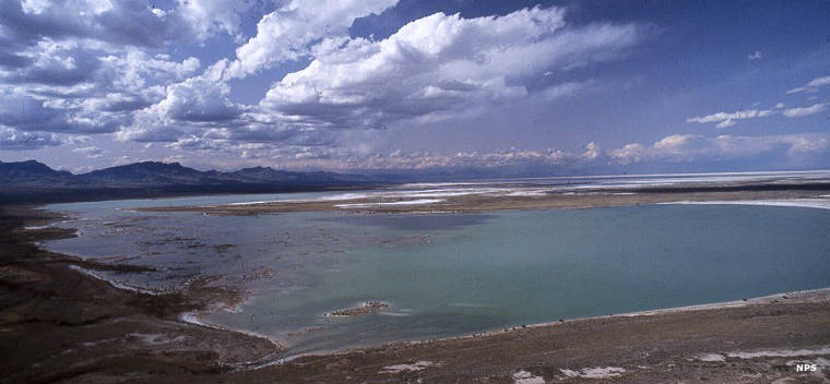 Lake Lucero at White Sands National Monument