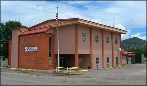 Catron County Courthouse in Reserve