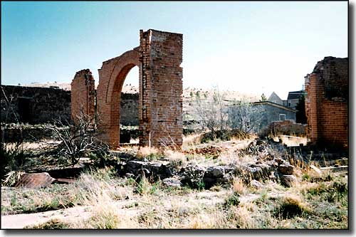 Ruins along the Geronimo Trail Scenic Byway