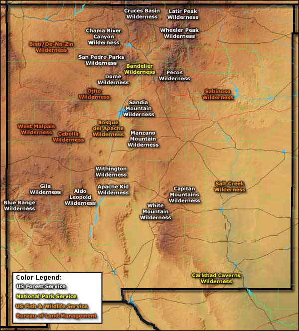 Wilderness Areas in New Mexico
