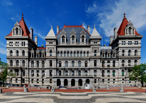 New York State Capitol buildings in Albany