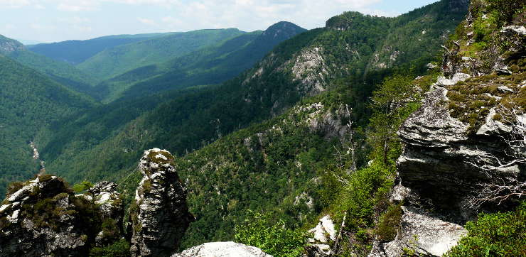 Linville Gorge, Pisgah National Forest