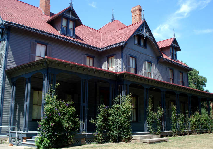 The James A. Garfield home