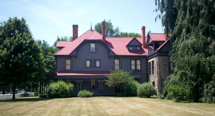 James Garfield home side view