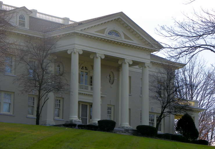 Hawthorn Hill House, Orville Wright's home for 34 years