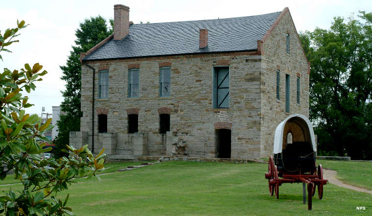 Commissary at Fort Smith National Historic Site