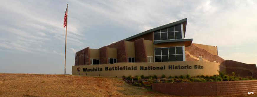 The Visitor Center at Washita Battlefield National Historic Site