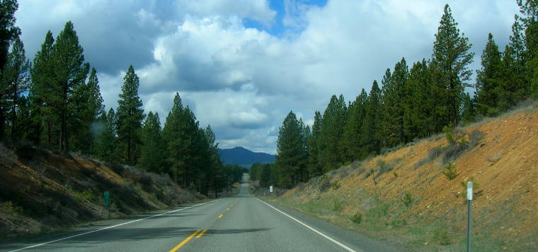 A typical view along the Elkhorn Scenic Byway