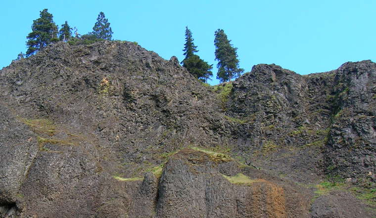 Columbia Gorge Cliffs