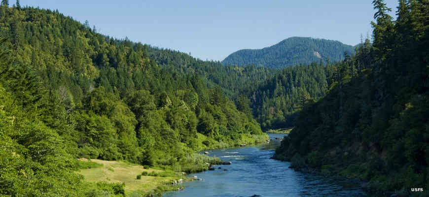 The Wild Rogue River in Wild Rogue Wilderness