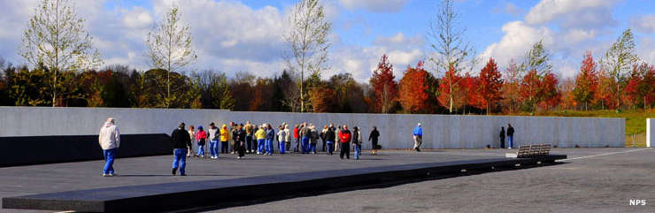 Memorial Plaza, Flight 93 National Memorial