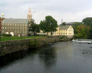 Slater Mill, part of the Blackstone River Valley National Heritage Corridor
