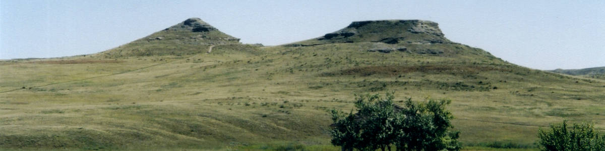 Nebraska: The Carnegie Hills in Agate Fossil Beds National Monument