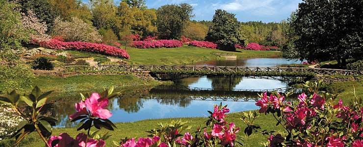 Mirror Lake at Bellingrath Gardens