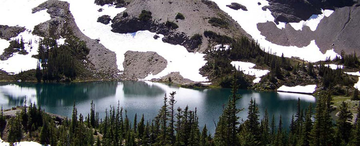 Goat Lake on Buckhorn Wilderness