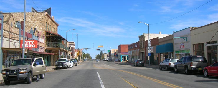 Downtown Clayton, New Mexico