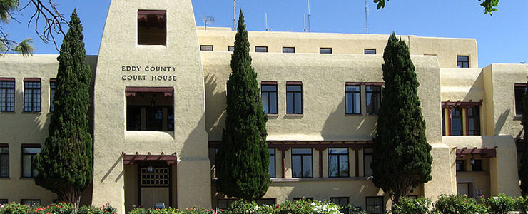 Eddy County Courthouse in Carlsbad