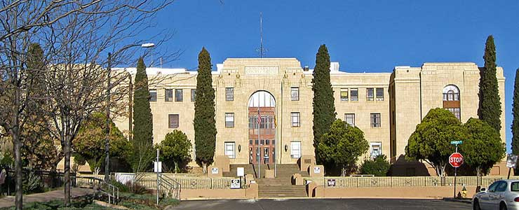 Grant County Courthouse in Silver City