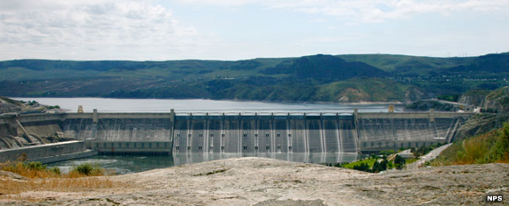 Lake Roosevelt National Recreation Area, Grand Coulee Dam
