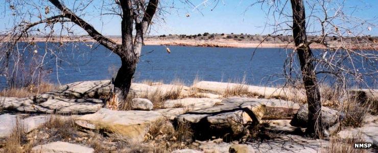 Sumner Lake, near Fort Sumner
