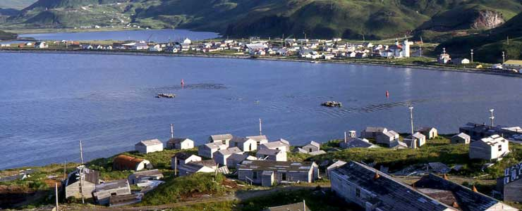 Dutch Harbor from the Aleutian World War II National Historic Area