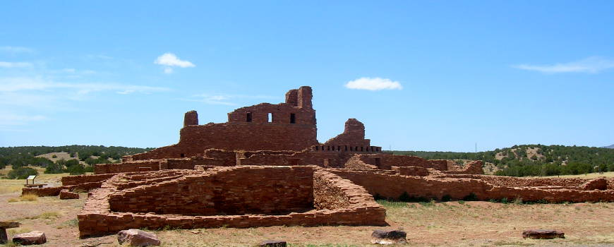The Abo Ruins of Salt Missions National Monument in New Mexico