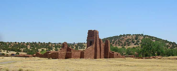 The ruins at Abo, Salinas Pueblo Missions National Monument