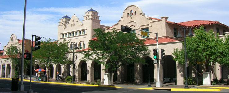 The Albuquerque transit center