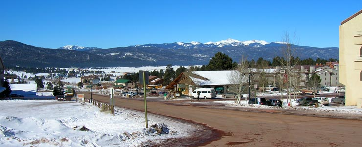 The view north from Angel Fire Resort
