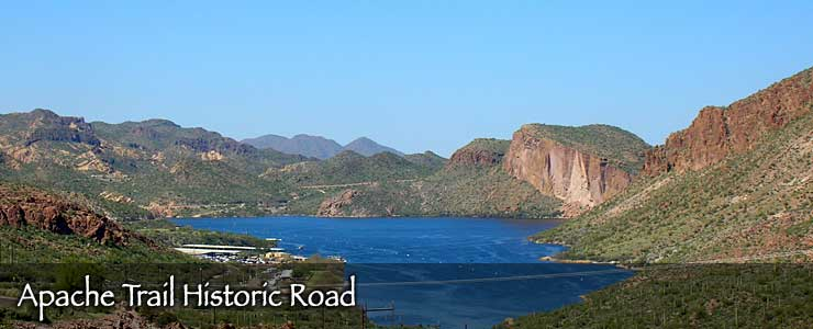 Apache Trail Historic Road