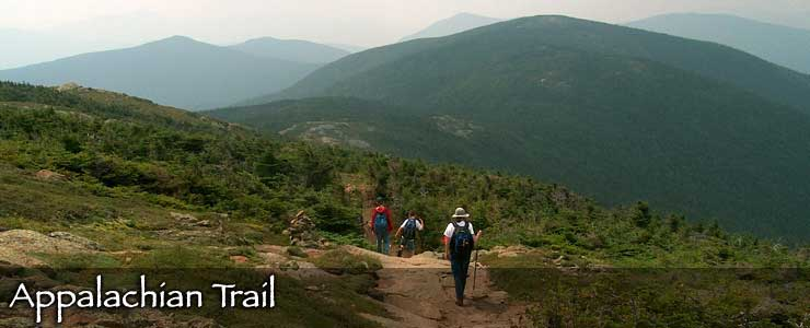 The Appalachian Trail in the White Mountains