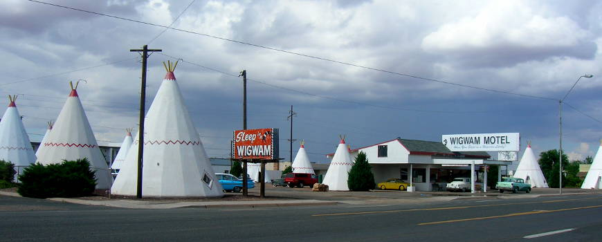 The Wigwam Motel on Historic Route 66 in Holbrook
